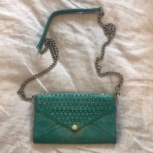 Rebecca Minkoff Spiky Stud Wallet on a Chain